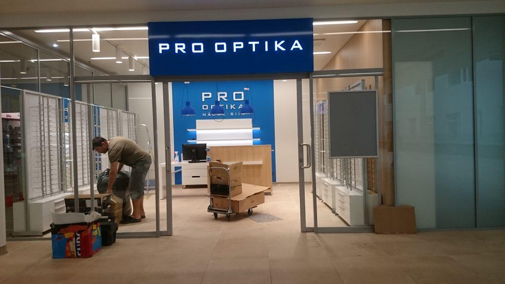 7f8ee0dfc3b Firma logod Pro Optika kauplustele - JAA Disain OÜ